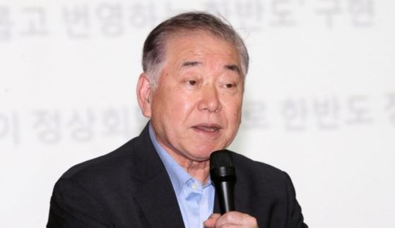 문정인 대통령 통일외교안보특보. [연합뉴스]