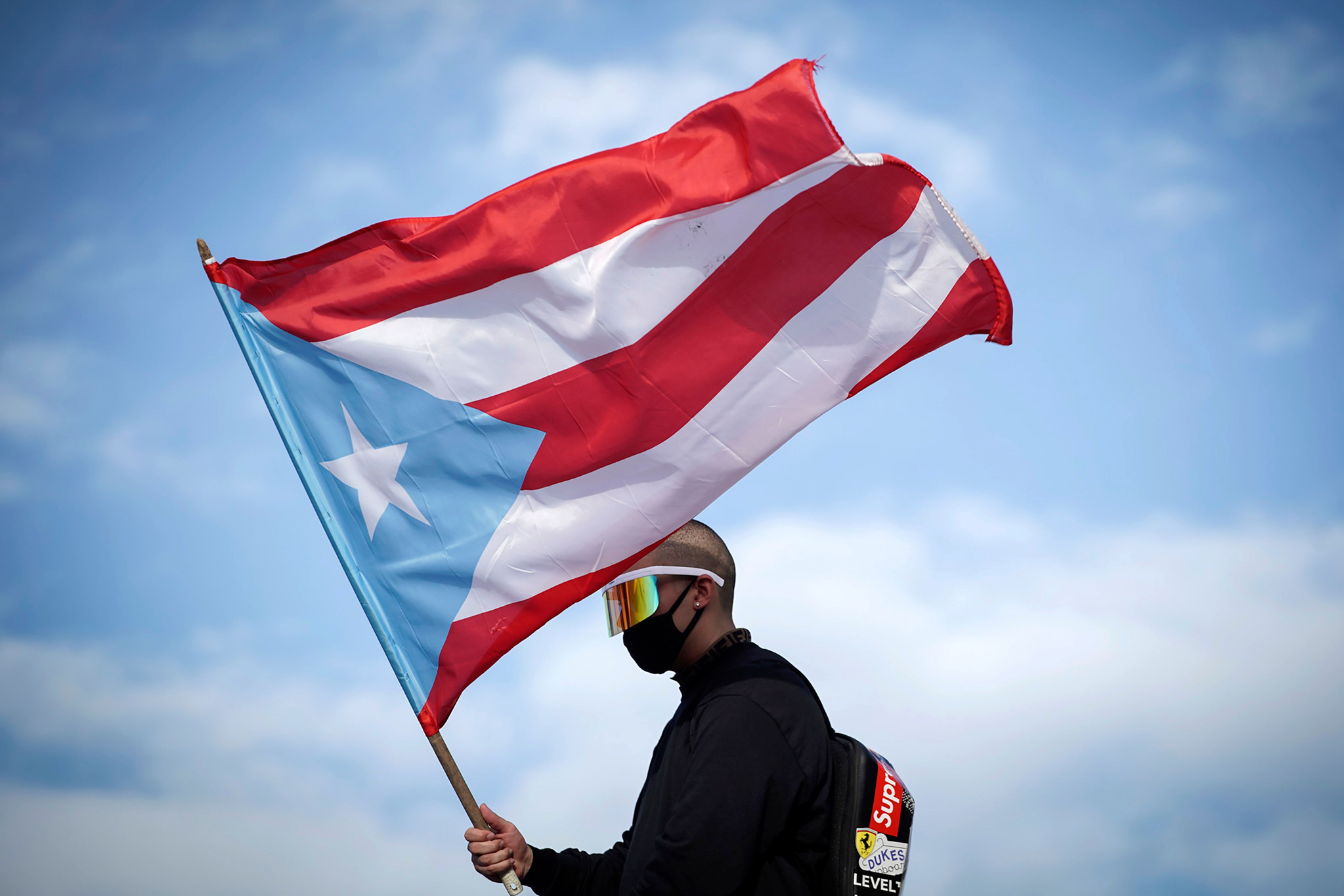[서소문사진관]혼돈에 빠진 푸에르토리코, 경찰서 무기고까지 털려