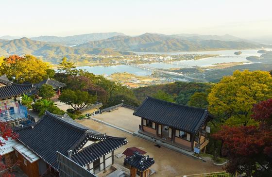 남양주 수종사에서 보이는 북한강. [사진 경기도]