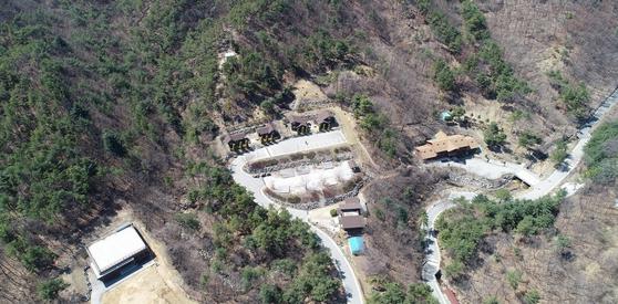 포천 천보산 자연휴양림. [사진 경기도]