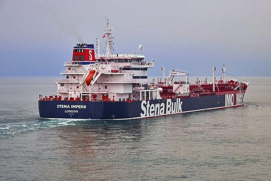 이란 해군에 유조선 억류된 영국 심각한 결과 초래할 것