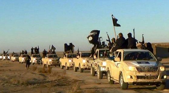 국제 테러단체 이슬람국가. [AP=연합뉴스]