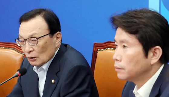 이인영 정부 비판하면 엑스맨 나경원 북한팔이하다 일본팔이하냐