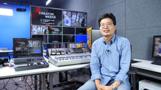 송재룡 트레져헌터 대표는 국내 MCN 산업의 개척자다. [중앙포토]
