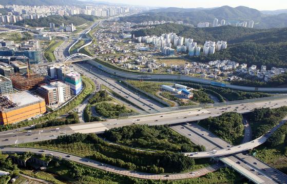 서울외곽순환도로. 이 사진은 기사 내용과 무관합니다. [중앙포토]