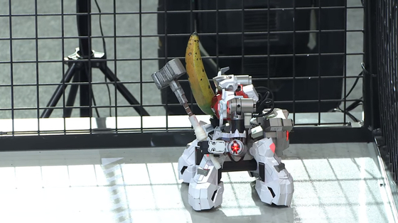 플레이어 움직임 그대로 따라하는 리얼 스틸 로봇, 게임올림픽 WCG에 등장