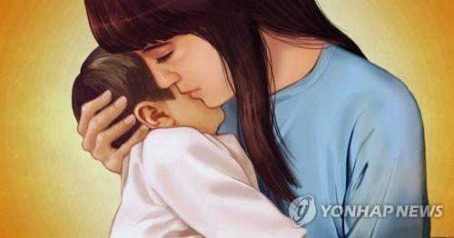 아기를 안고 집으로 오는 내내 그 어린 엄마의 얼굴이 아른거렸다. [연합뉴스]