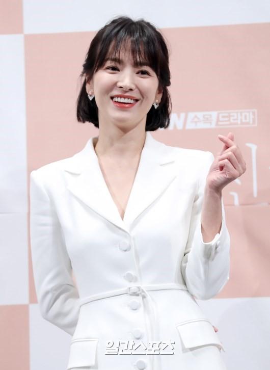 송혜교, 이혼 성립 전 올해는 혼자만의 시간 가질 것