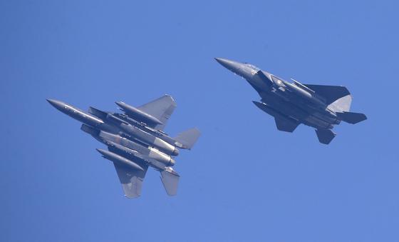 한국 공군의 F-15K