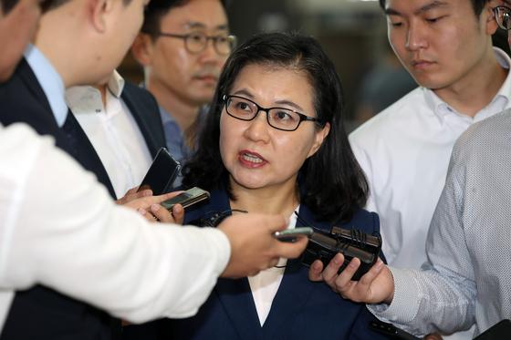 유명희 통상본부장 방미…정부 美·日·WTO 설득 박차