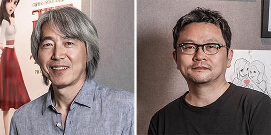 김상진 감독(左), 홍성호 감독(右)