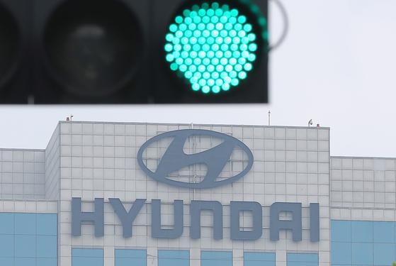 지난 22일 서울 서초구 양재동 현대자동차 본사.[연합뉴스]