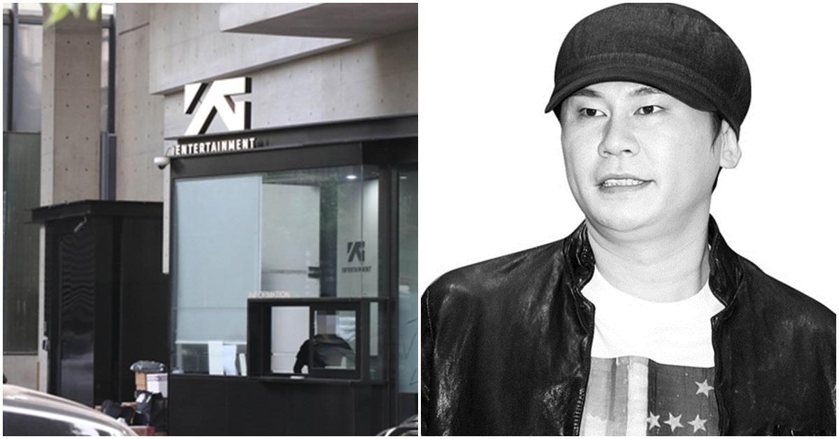YG 사옥과 양현석 전 YG 대표. [뉴시스·일간스포츠]
