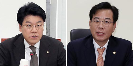 장제원(左), 송언석(右). [뉴시스·뉴스1]