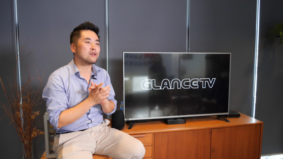"""박성조 글랜스TV 대표는 """"철학을 가진 사람이라면 누구나 크리에이터가 될 수 있다""""고 말한다."""