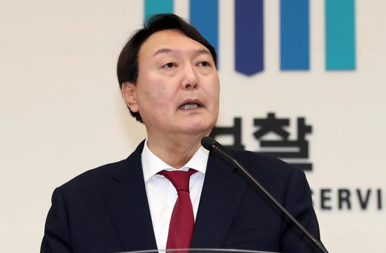 윤석열 검찰총장. 변선구 기자