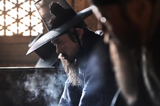 영화 '남한산성'의 한 장면