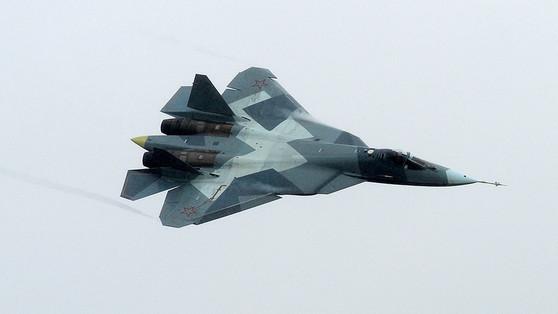 러시아 스텔스 전투기 Su-57. [중앙포토]