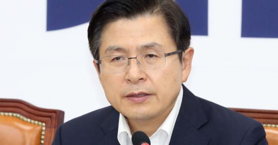황교안 자유한국당 대표. [뉴시스]