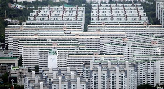 강남 재건축 아파트의 상징인 대치동 은마아파트. / 사진:연합뉴스