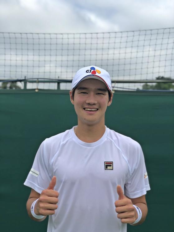 남자 테니스 권순우. [사진 스포티즌]