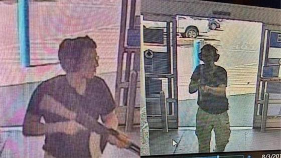 3일(현지시간) 미국 텍사스주 엘패소시의 월마트에서 총기난사 사건이 발생, 20명이 숨지고 26명이 다쳤다. 경찰은 현장에서 21세 백인 남성 패트릭 크루시어스를 용의자로 체포했다고 현지 언론은 전했다. [AFP=연합뉴스]