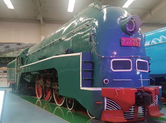 1934년 일본의 만철이 운행을 시작한 특별급행열차 '아시아'에는 에어컨도 설치됐다. [중앙포토]