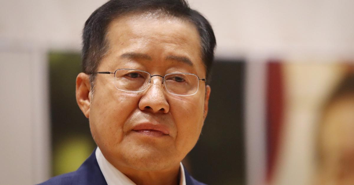 홍준표 전 자유한국당 의원. [연합뉴스]