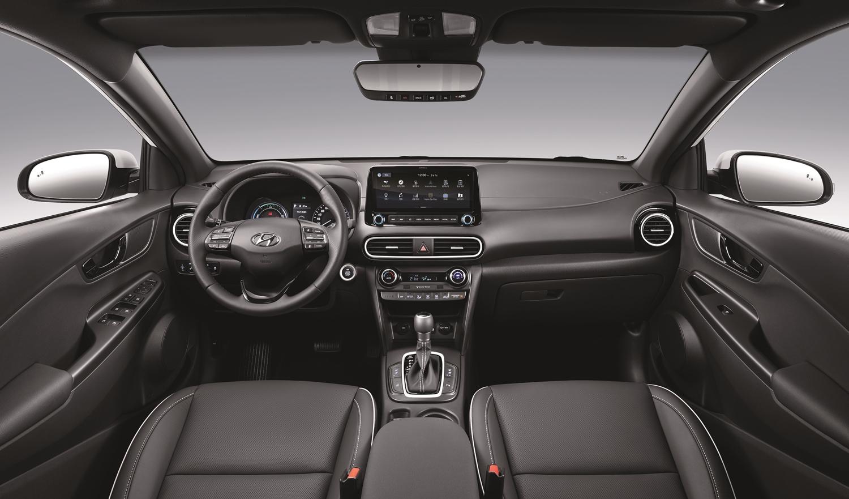 현대자동차그룹이 SUV 하이브리드 라인업을 확대한다. 7일 출시한 코나 하이브리드. [사진 현대자동차]