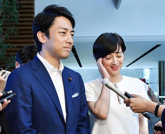 """고이즈미 아들 '결혼합니다"""""""