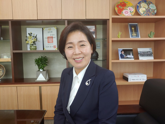 양향자 국가공무원인재개발원장.