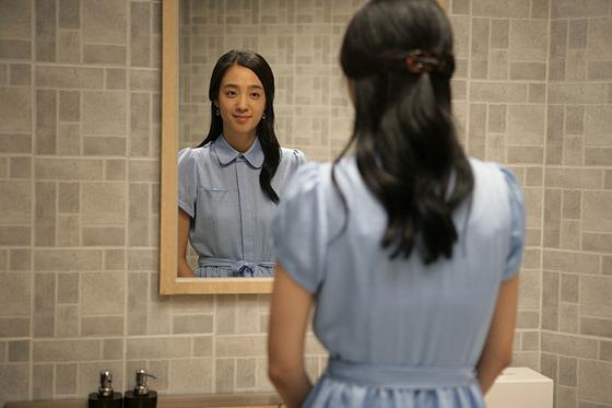 영화 '무법자' 주연 배우 김민주. [무법자 스틸컷]