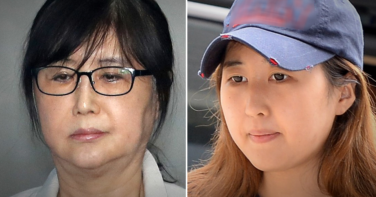 국정농단 사건 2심에서 징역 20년을 선고받은 최순실씨(왼쪽)과 그의 딸 정유라씨. [중앙포토·연합뉴스]