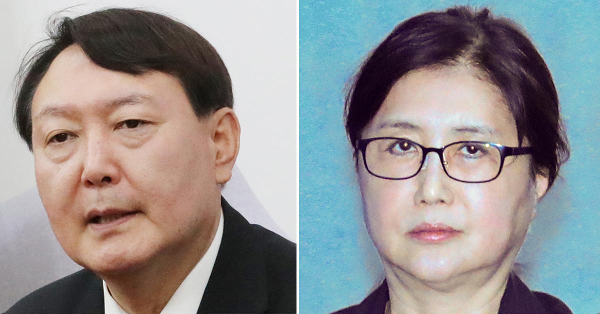 윤석열 검찰총장(왼쪽)과 최순실씨. [연합뉴스]
