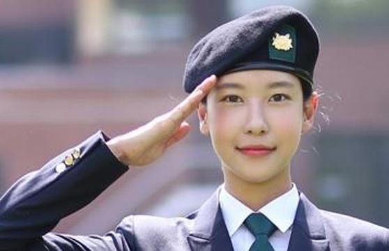 우희준씨는 학군사관 후보생이라는 경력이 있다. [연합뉴스]