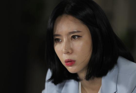 고(故) 장자연 사건 증언자 윤지오씨. [연합뉴스]