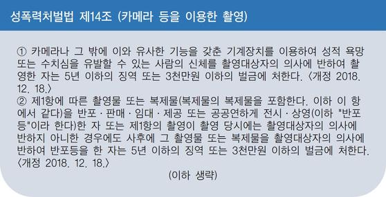 성폭력처벌법 제14조. [제작 황유민]