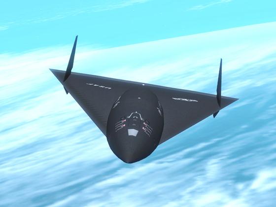 미 공군이 비밀리에 개발하고 있다는 오로라 정찰기 상상도. [사진 위키피디아]