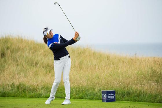 허미정이 12일 스코틀랜드 여자오픈에서 5년 만에 LPGA투어 우승을 차지했다. [사진 트리스탄 존스]