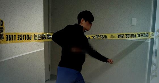 경기도 부천의 한 모텔에서 50대 여성이 양손이 묶여 숨진 채 발견됐다. [연합뉴스]