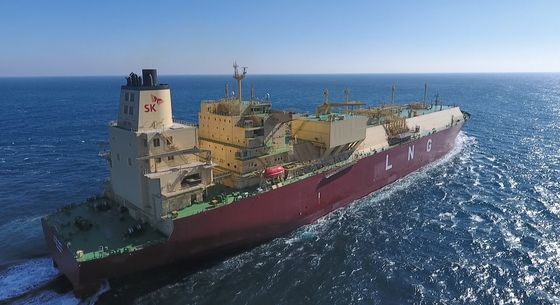 SK E&S가 보유하고 있는 LNG선. [사진 SK E&S]