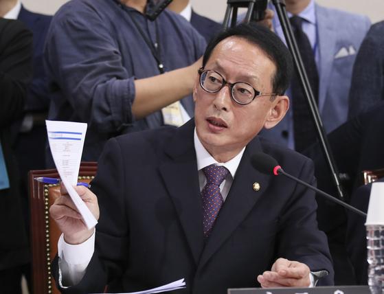 김도읍 신임 자유한국당 대표 비서실장. [중앙포토]