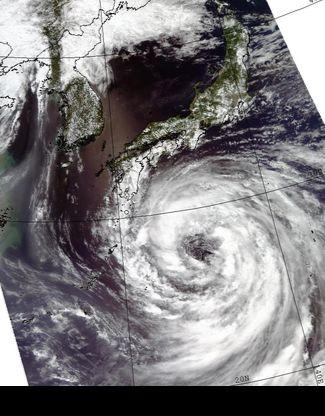 태풍 크로사 [사진 미항공우주국(NASA)]