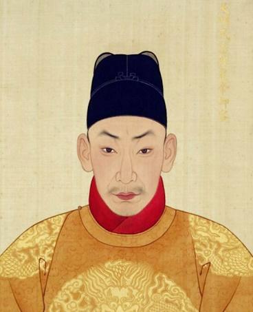 중국 명나라 제10대 황제 주후조. 왕양명은 주후조가 총애한 유근 세력에 맞섰지만 실패해 중벌을 받게 된다. [사진 Wikimedia Commons]