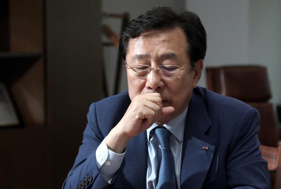 김기문 중소기업중앙회장. 최승식 기자