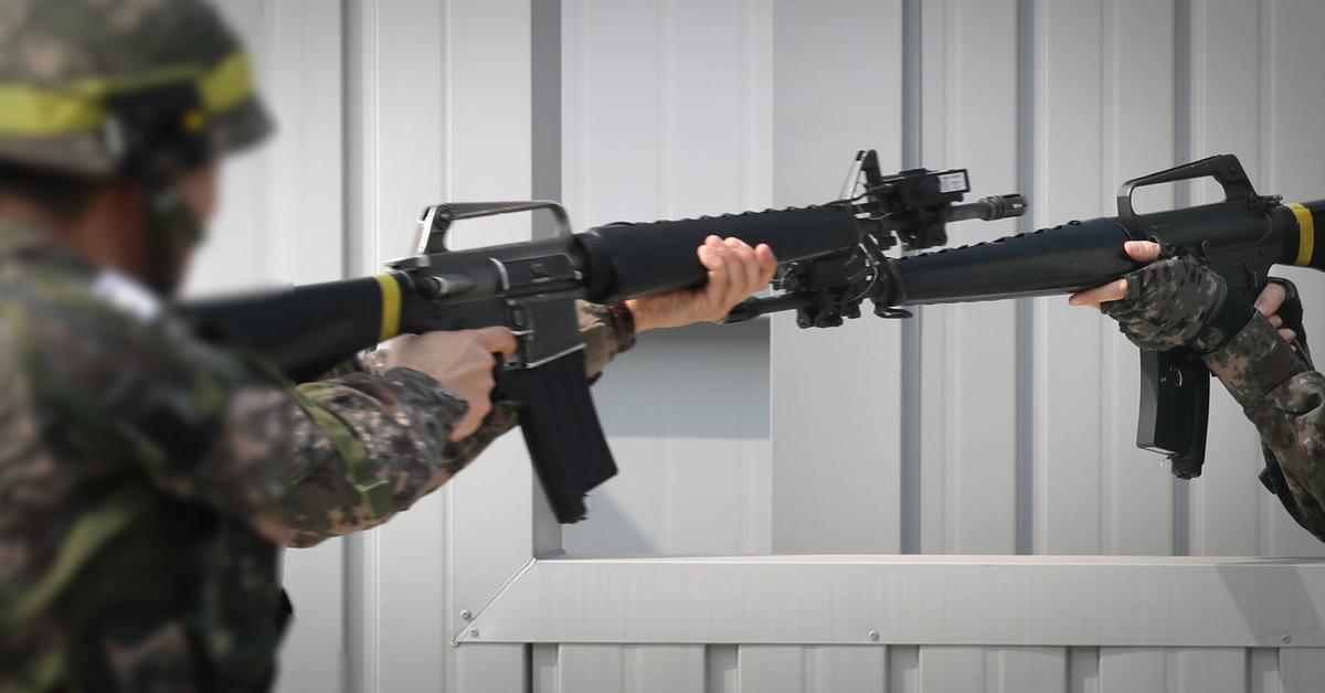 이 사진은 기사 내용과 관련 없는 예비군 훈련 자료 사진. [중앙포토]