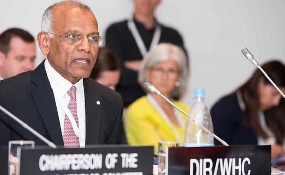 키쇼어 라오(Kishore Rao) 세계유산센터(WHC) 소장 [출처 iucn.org]