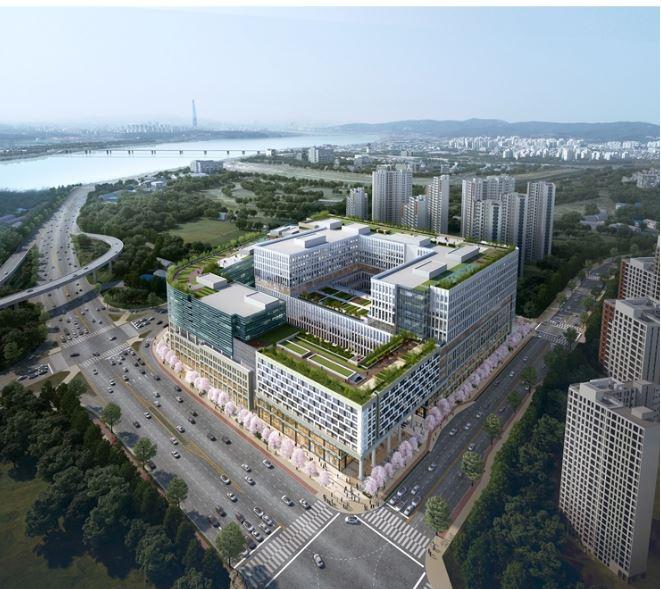 사진 : 지식산업센터 'DIMC 테라타워' 조감도 (제공=안강개발)