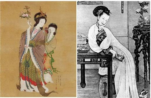 중국 미인의 상징 양귀비(왼쪽)와 중국 청나라말 사치와 권력의 상징 서태후가 젊음을 유지하기 위해 즐겨 먹었던 것이 제비집 요리이다. [사진 전지영]