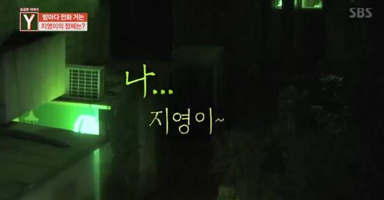 [SBS '궁금한 이야기 Y' 캡처]